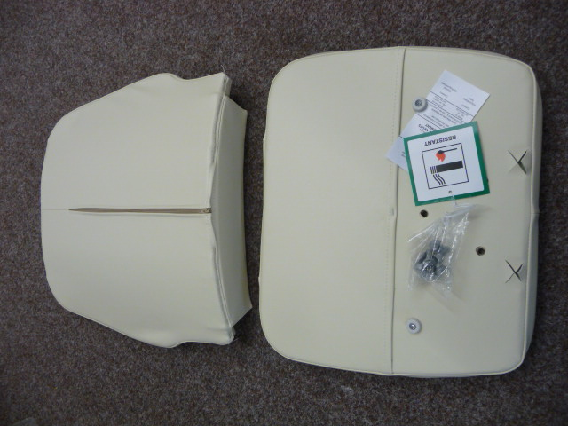 Stannah Saxon Upholstery Set Cream Vinyl 300/400/420
