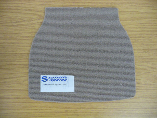 Stannah Starla / Siena 600- 420 Standard Footrest Carpet Mat .