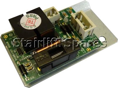 Hinge Control PCB – chassis – Stannah 420