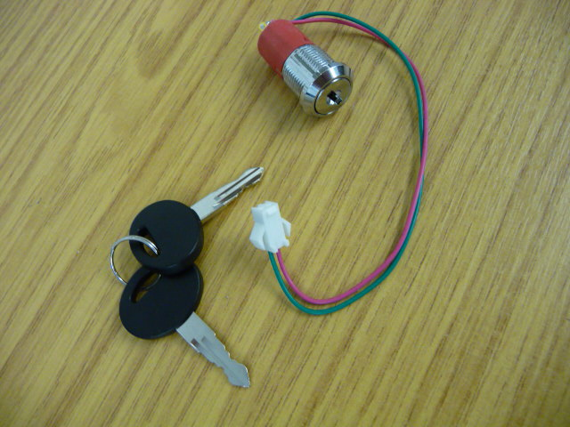 Minivator Handicare Keyswitch 950 1000 2000 Male plug