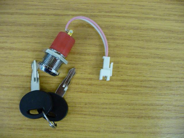Handicare / Minivator Key Switch & Loom Female Plug (Smartseat) 950/1000/2000