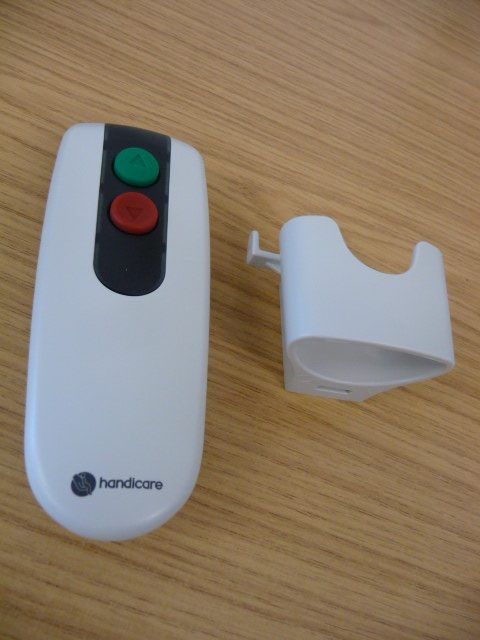 Minivator Handicare 2 Button Remote Handset IR Infra Red