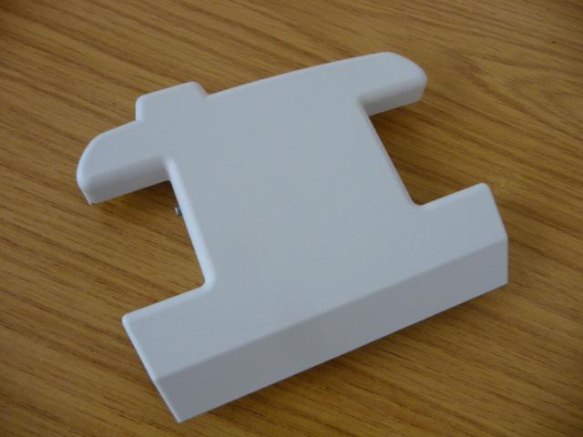 Minivator / Handicare 950 track end cover bottom