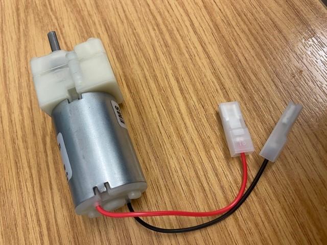 Handicare / Minivator 2000 footrest motor variant
