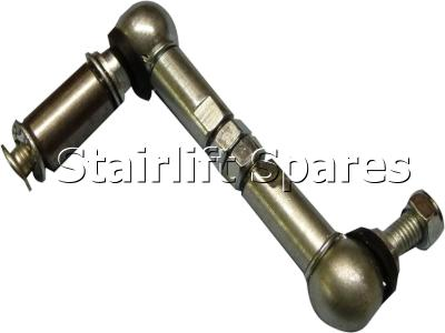 Liftable Cumbria Footrest Ball & Socket joint