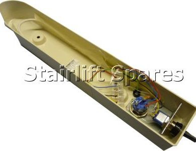 Arm Moulding Underside LH c/w Key Switch & Toggle - Cumbria