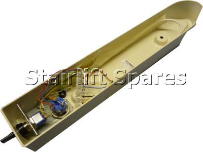 Arm Moulding Underside RH c/w Key Switch & Toggle – Cumbria