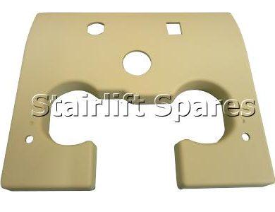 Upper Safety Cover - Brooks Slimline 120 & 130 (cream)
