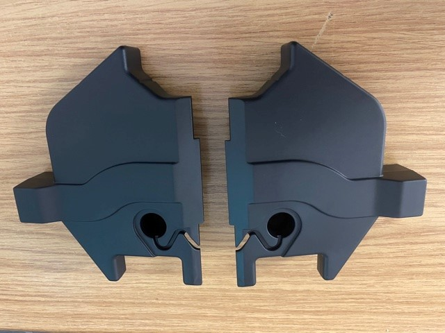 Levant / Homeglide Rail End Covers Top & Bottom