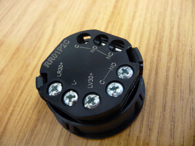 Thyssen Push Button – Blank- Braille Marked