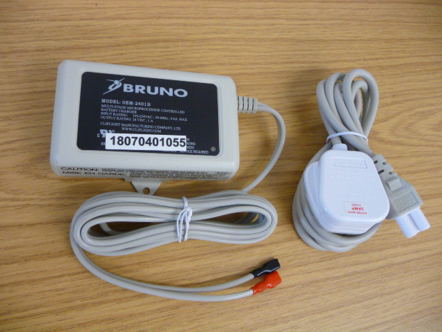 Bruno Battery Charger 1A