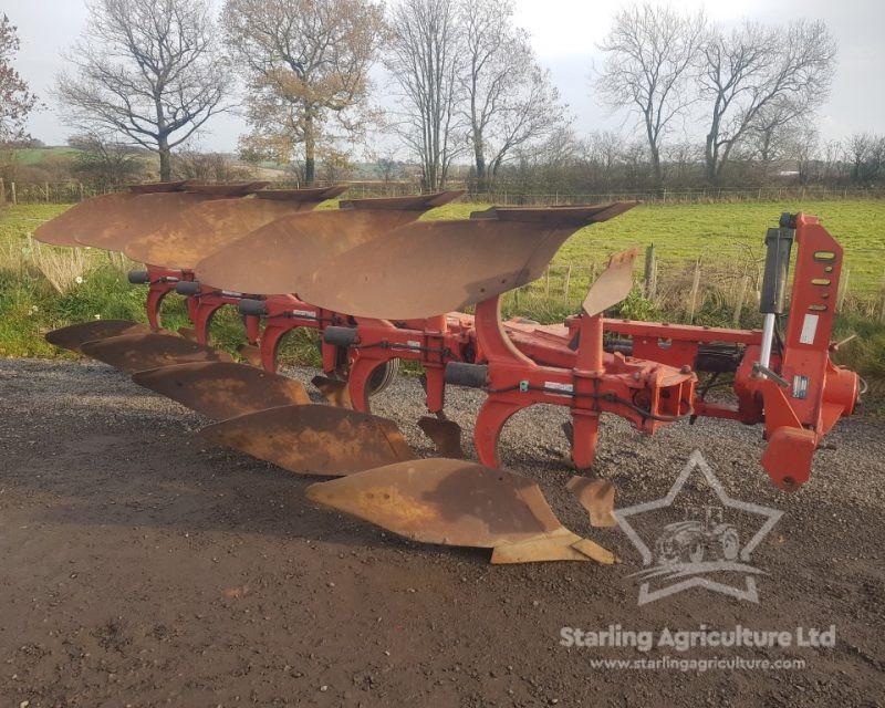 Gregoire-Besson 5F Auto Reset Plough
