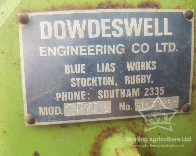 Dowdeswell DP7D2 5F Plough