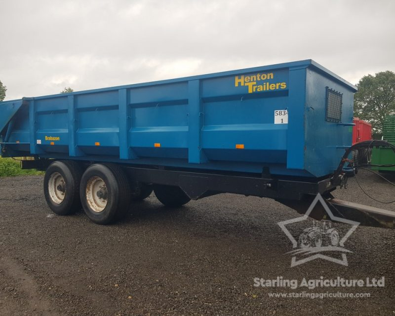 Henton 12T Root Trailer