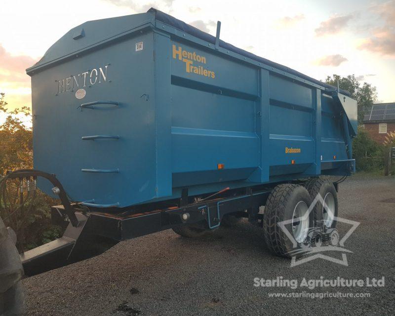 Henton 12T Grain Trailer.