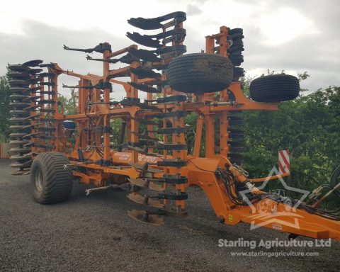 Simba SL 700 and Stocks Seeder