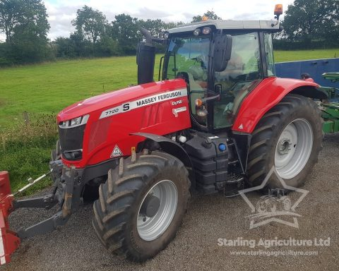 Massey Ferguson 7720S Exclusive