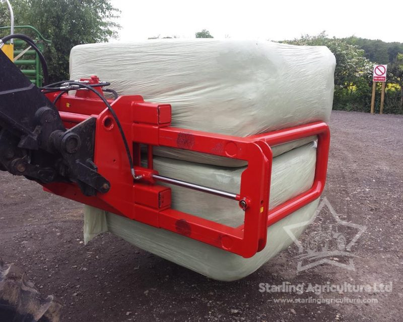 Hall Wrapped Bale Handler
