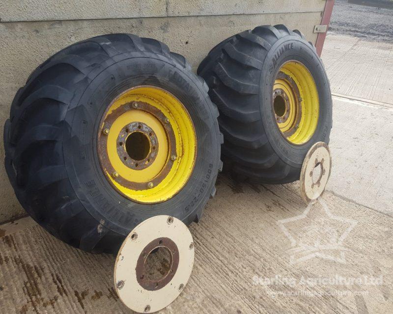 600/50-22.5 Wheels