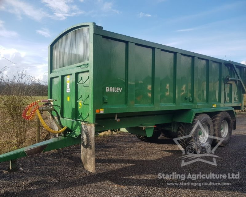 Bailey 16T Trailer with Silage Sides