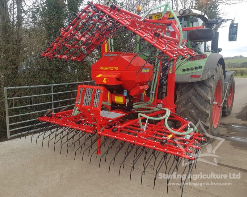 Einbock 6m GrassHarrow and Air Seeder for Hire