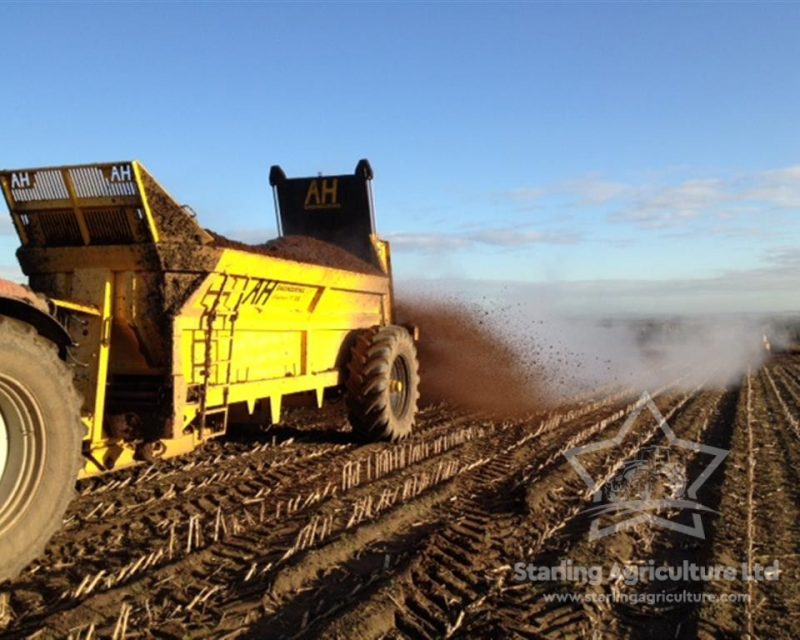 Muck Spreader For Hire