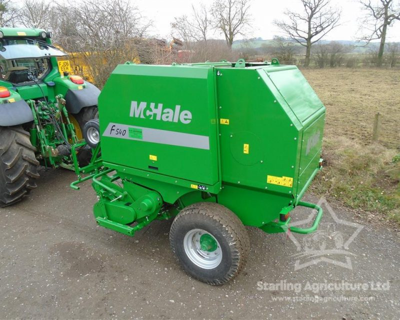 McHale F540 Baler