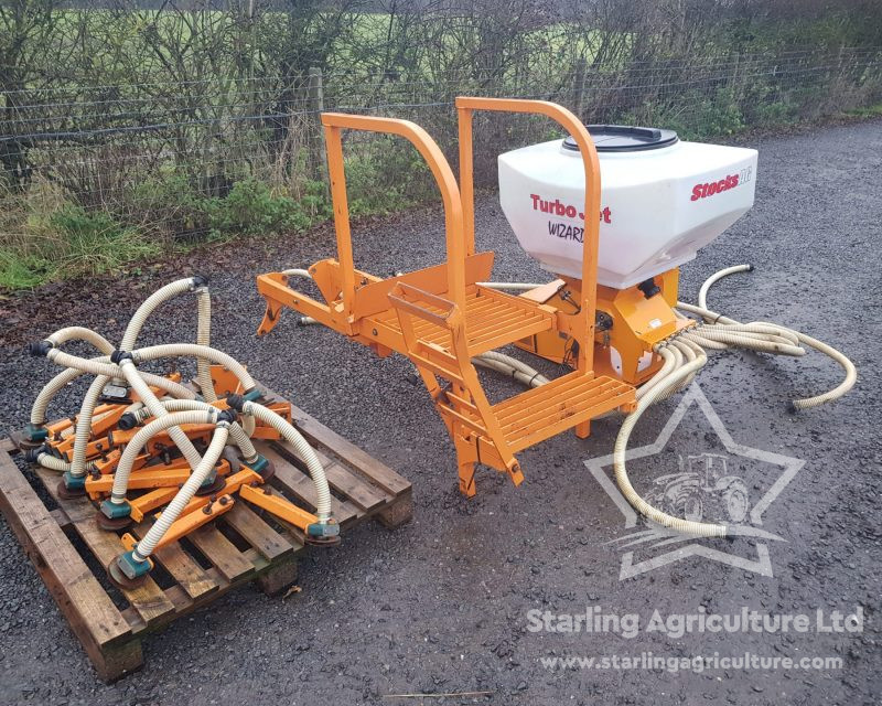 Stocks Turbo Jet Wizard Seeder