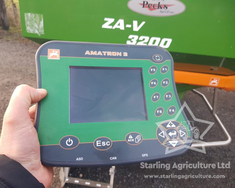 Amazone ZA-V Profis Tronic Spreader