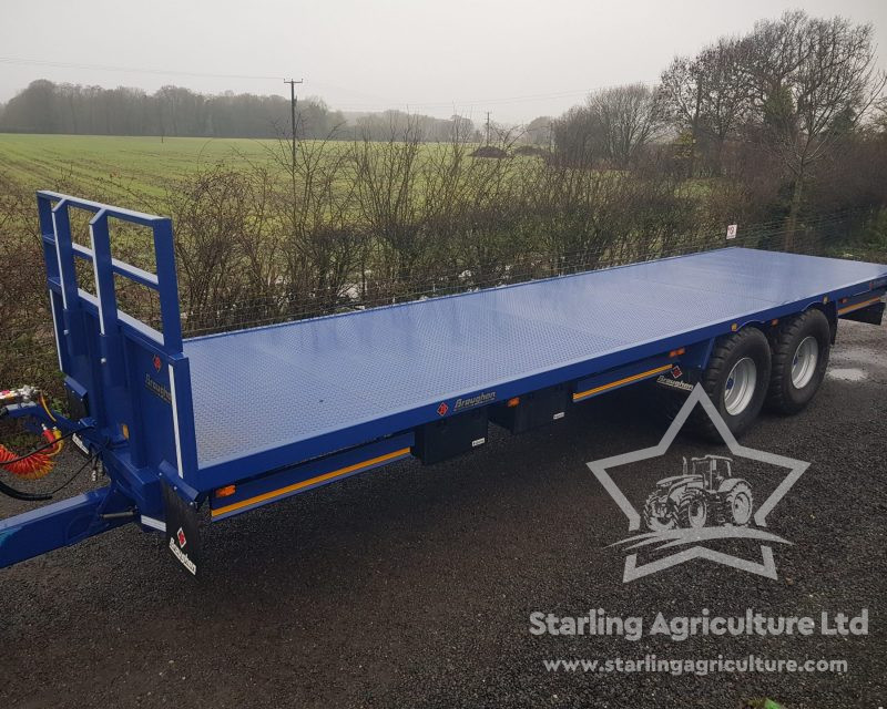 Broughan 32ft Bale Trailer