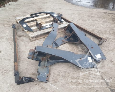 Quickie Loader Brackets for NH TM /Case IH