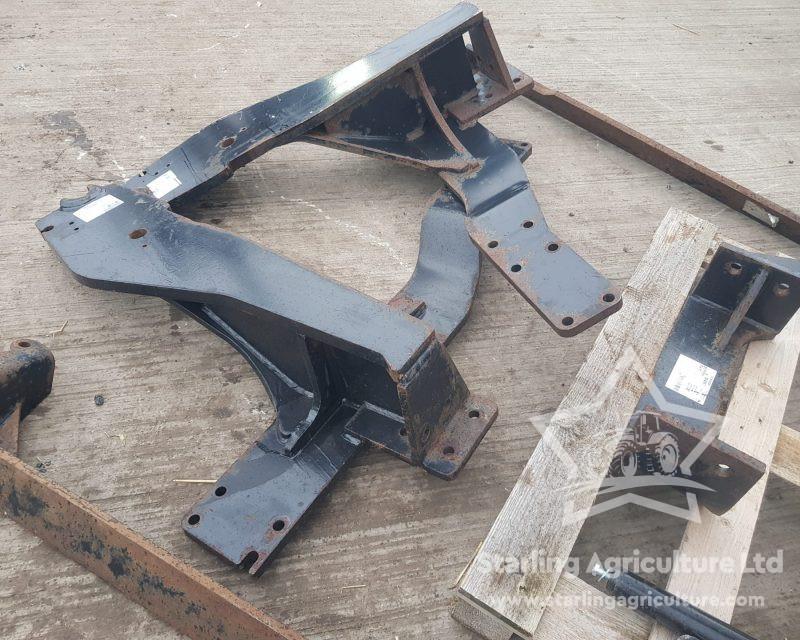 Quickie Loader Brackets for NH TM /Case IH
