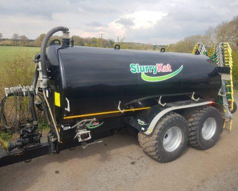 SlurryKat Tanker and Dribble Bar