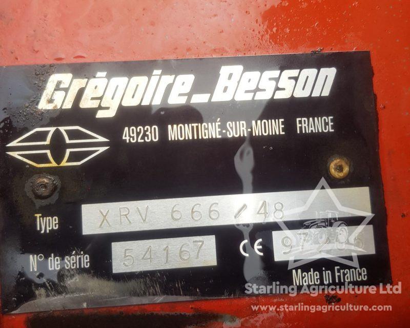 Gregoire-Besson 6.5m Discs