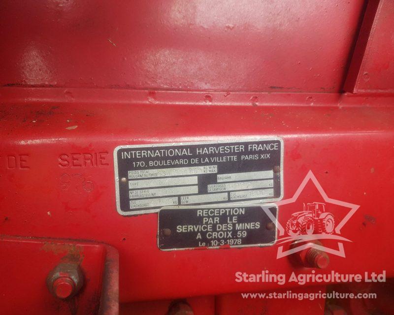 International 541 Combine