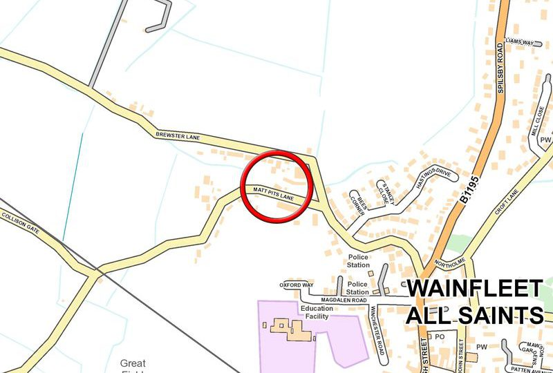 Residential Development Opportunity, Matt Pit Lane, Wainfleet All Saints