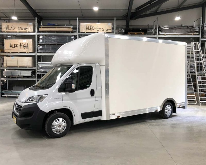 Fiat CityMAX 4.1M x 2.5M Wide-Trak High Roof