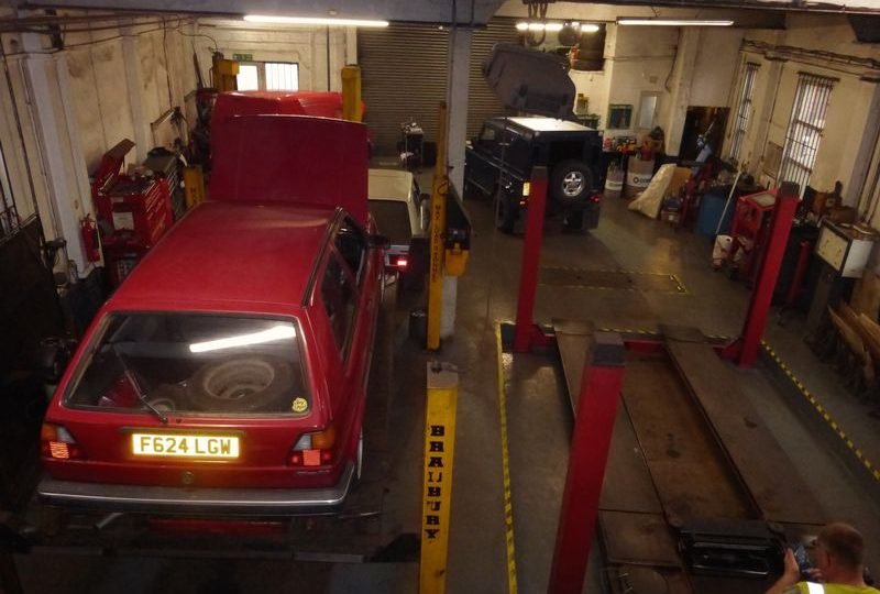 Auto Repairs & MOT Station & Flat above, 1a Old Wainfleet Road, Skegness