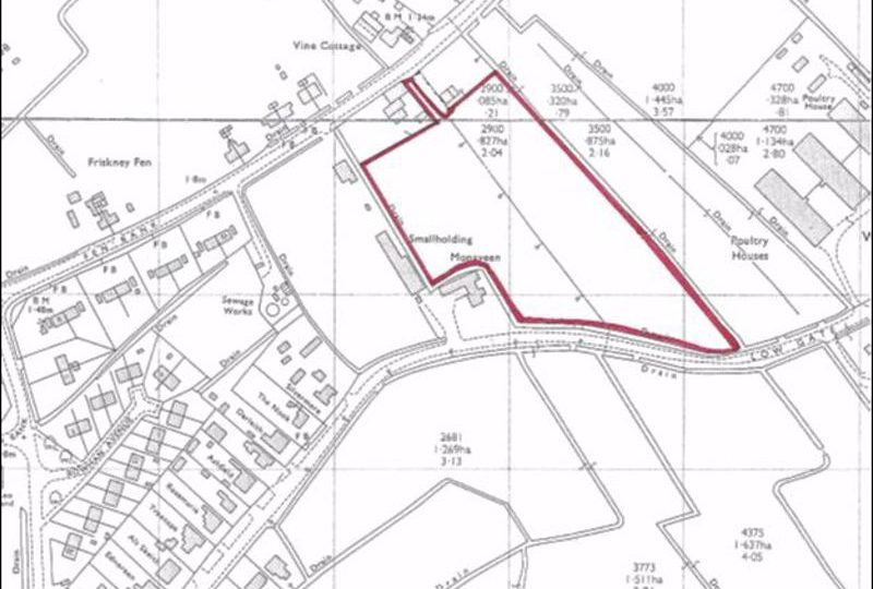 1.59 Hectares (3.93 Acres) Development Land, Burgh Road, Friskney, Boston