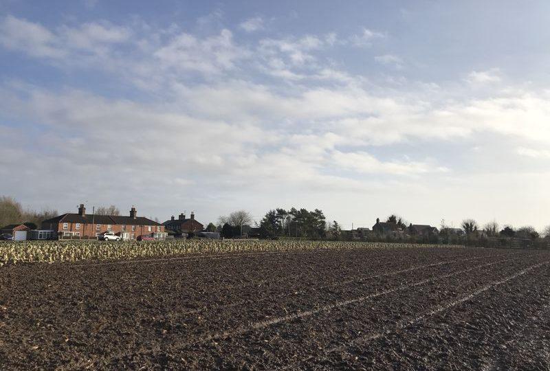 3.59 Acres of Arable Land, Croft Bank, Croft, Skegness