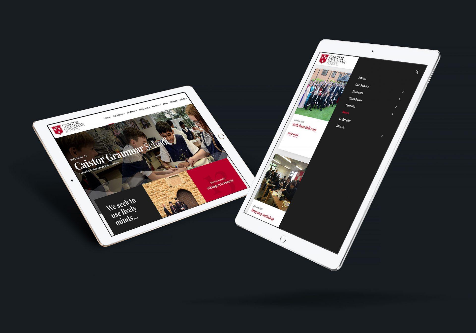 Caistor Grammar School iPad